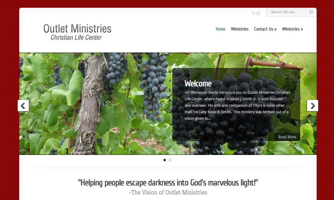 Outlet Ministries Christian Life Center